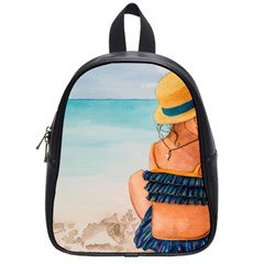 A Day At The Beach School Bag (small)