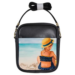 A Day At The Beach Girl s Sling Bag