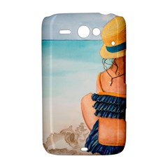 A Day At The Beach HTC ChaCha / HTC Status Hardshell Case