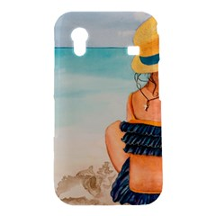 A Day At The Beach Samsung Galaxy Ace S5830 Hardshell Case