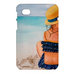 A Day At The Beach Samsung Galaxy Tab 7  P1000 Hardshell Case