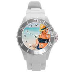 A Day At The Beach Plastic Sport Watch (Large)