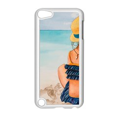 A Day At The Beach Apple Ipod Touch 5 Case (white)