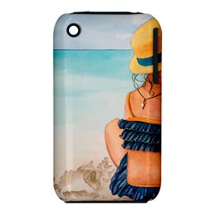 A Day At The Beach Apple iPhone 3G/3GS Hardshell Case (PC+Silicone)
