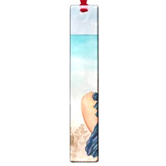 A Day At The Beach Large Bookmark