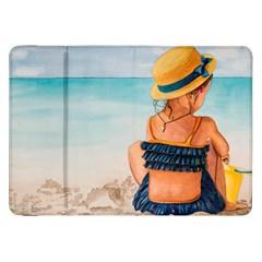 A Day At The Beach Samsung Galaxy Tab 8.9  P7300 Flip Case