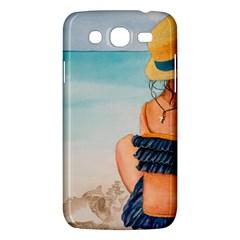 A Day At The Beach Samsung Galaxy Mega 5 8 I9152 Hardshell Case