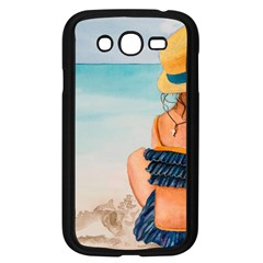 A Day At The Beach Samsung Galaxy Grand Duos I9082 Case (black)