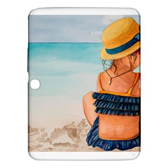 A Day At The Beach Samsung Galaxy Tab 3 (10.1 ) P5200 Hardshell Case
