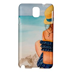 A Day At The Beach Samsung Galaxy Note 3 N9005 Hardshell Case