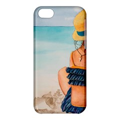 A Day At The Beach Apple Iphone 5c Hardshell Case