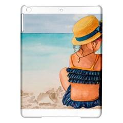 A Day At The Beach Apple iPad Air Hardshell Case
