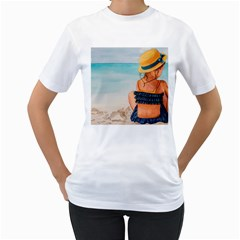 A Day At The Beach Women s T-Shirt (White)