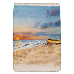Sunset Beach Watercolor Removable Flap Cover (Large)