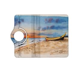 Sunset Beach Watercolor Kindle Fire HD 7  (2nd Gen) Flip 360 Case