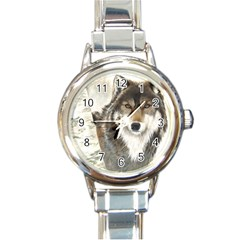 Hunter Round Italian Charm Watch