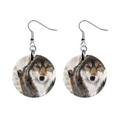 Hunter Mini Button Earrings