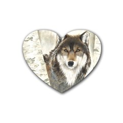 Hunter Drink Coasters 4 Pack (Heart)