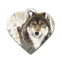 Hunter Dog Tag Heart (two Sided)