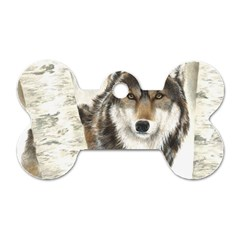 Hunter Dog Tag Bone (Two Sided)