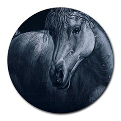 Equine Grace  8  Mouse Pad (round)