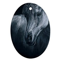 Equine Grace  Oval Ornament