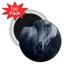 Equine Grace  2.25  Button Magnet (100 pack)