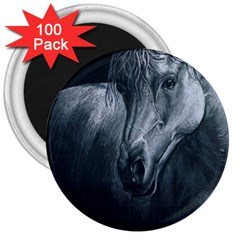 Equine Grace  3  Button Magnet (100 pack)