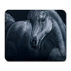 Equine Grace  Large Mouse Pad (Rectangle)