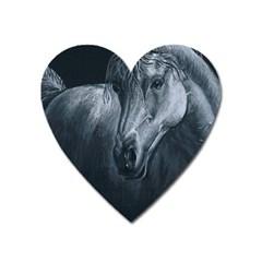 Equine Grace  Magnet (Heart)
