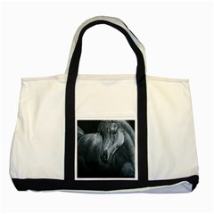 Equine Grace  Two Toned Tote Bag
