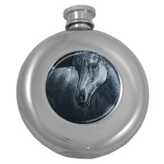 Equine Grace  Hip Flask (Round)