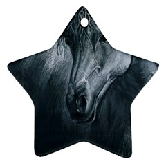 Equine Grace  Star Ornament (Two Sides)