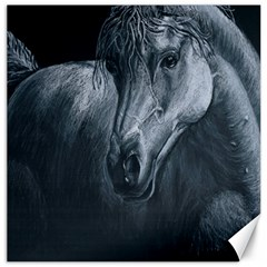 Equine Grace  Canvas 12  X 12  (unframed)