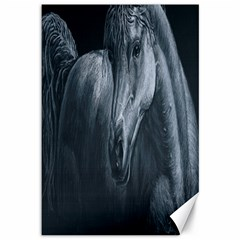 Equine Grace  Canvas 12  x 18  (Unframed)