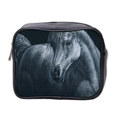 Equine Grace  Mini Travel Toiletry Bag (Two Sides)