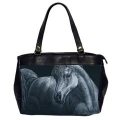Equine Grace  Oversize Office Handbag (Two Sides)