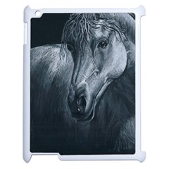 Equine Grace  Apple Ipad 2 Case (white)