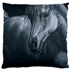 Equine Grace  Large Cushion Case (Two Sided)