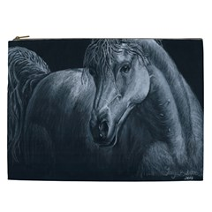 Equine Grace  Cosmetic Bag (xxl)