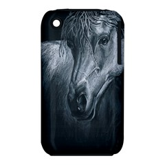 Equine Grace  Apple iPhone 3G/3GS Hardshell Case (PC+Silicone)