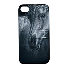Equine Grace  Apple iPhone 4/4S Hardshell Case with Stand