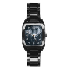 Equine Grace  Stainless Steel Barrel Watch