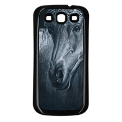 Equine Grace  Samsung Galaxy S3 Back Case (Black)