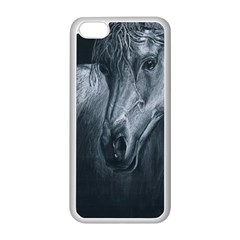 Equine Grace  Apple Iphone 5c Seamless Case (white)