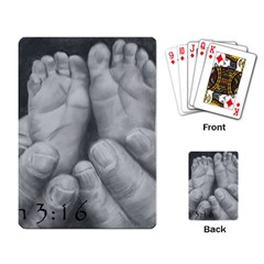John 3:16 Playing Cards Single Design