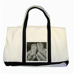 John 3:16 Two Toned Tote Bag