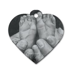 John 3:16 Dog Tag Heart (Two Sided)