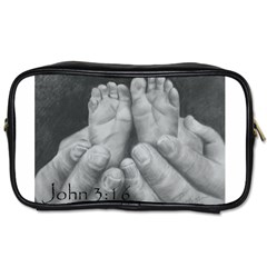 John 3:16 Travel Toiletry Bag (Two Sides)