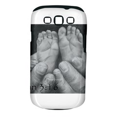 John 3:16 Samsung Galaxy S III Classic Hardshell Case (PC+Silicone)